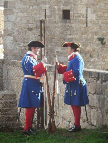 Milicians dels gremis de Matalassers i Notaris causídics