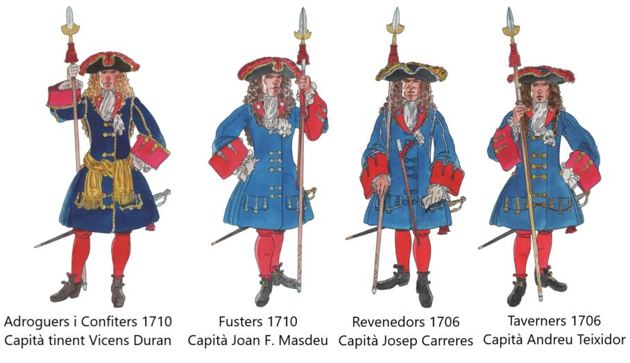 Capitans Coronela de Barcelona