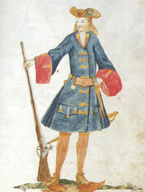 Gaspar Ferran, companyia dels argenters, 1707